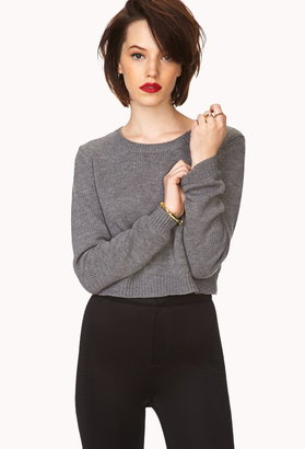 Forever 21 Must-Have Cropped Sweater