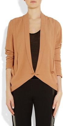 See by Chloe Wrap-effect crepe blazer