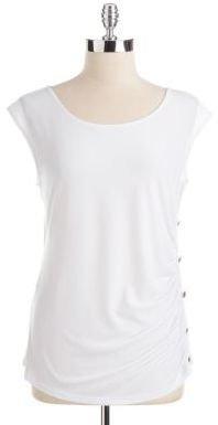 Calvin Klein Side Button Top
