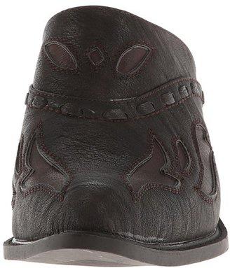 Roper Rockstar Interlace Mule Cowboy Boots