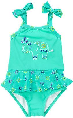 Gymboree Embellished Elephant One-Piece Swimsuit