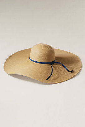 Lands' End Women's Straw Floppy Sun Hat