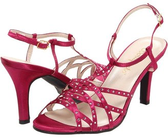 Bouquets Crystal (Fuchsia Satin) - Footwear