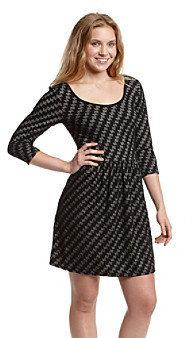 Be Bop Juniors' Houndstooth Sweater Dress