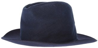 Maison Martin Margiela contrast brim hat