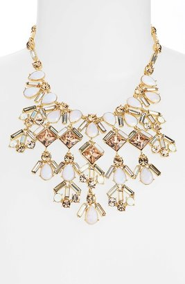 Kate Spade 'baguette Bridal' Stone Bib Necklace