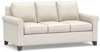 Pottery Barn Cameron Roll Arm Upholstered Deluxe Sleeper Sofa