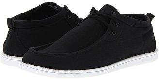 Quiksilver Belvedere (Black/Black/White) - Footwear