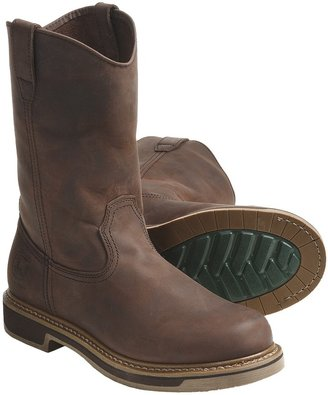 John Deere Footwear 10'' Nutty Mule Work Boots - Slip-Ons, Oiled Leather (For Men)
