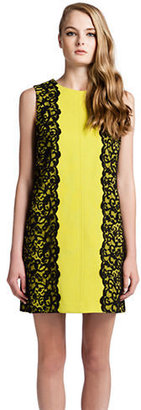 Cynthia Steffe Sleeveless Dress with Lace Accents