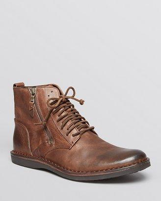 John Varvatos Star USA Barrett Side Zip Boots $298 thestylecure.com
