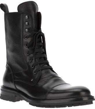 Bruno Magli military style boot