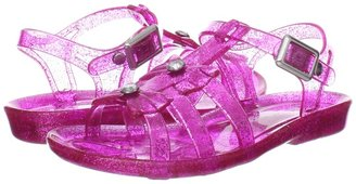 Skechers Sparkle - Jelly Two Bo (Hot Pink) - Footwear