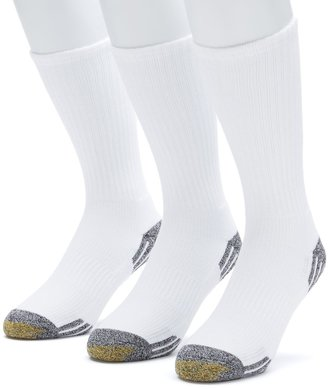Gold Toe Men's GOLDTOE 3-pk. Outlast Temperature Control Crew Socks