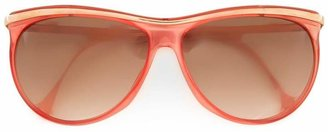 Versace Pre-Owned butterfly frame sunglasses