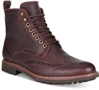 Clarks Men's Montacute Wingtip Boots $160 thestylecure.com