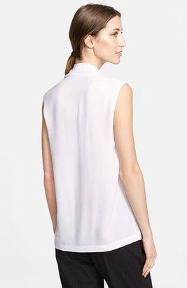 Yigal Azrouel Drape Neck Silk Top
