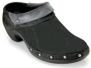 Merrell Luxe Wrap - Black Leather Clog