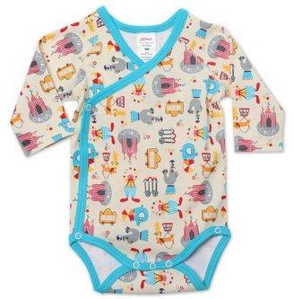 Zutano Unisex-Baby Newborn Le Cirque Long Sleeve Body Wrap