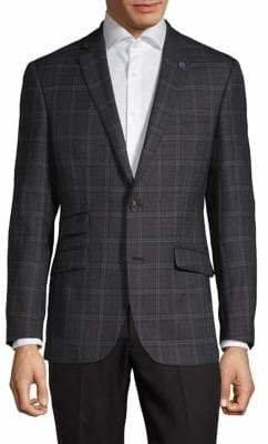 Ted Baker No Ordinary Joe Plaid Wool Sportcoat