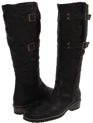 Rieker R3276 Lea 76 (Black Leather) - Footwear
