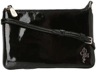 Cole Haan Jitney Mini Crossbody (Black Patent) - Bags and Luggage