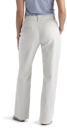 Lee Slimming Straight-Leg Trouser Pants - Women's