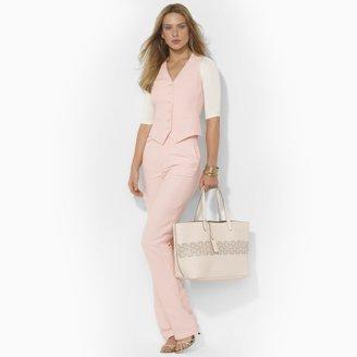 Ralph Lauren Silk-Linen Vest