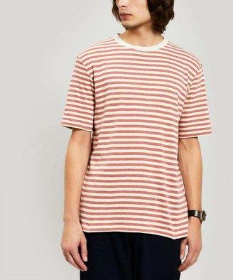 Folk Stripe Cotton T-Shirt