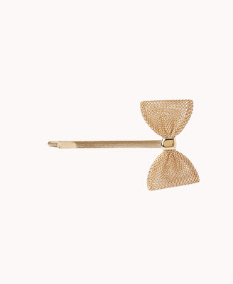 Forever 21 Metallic Bow Hair Pin