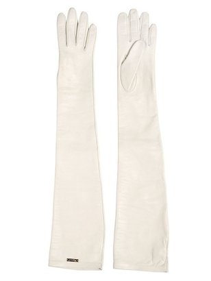 DSquared Nappa Leather Long Gloves