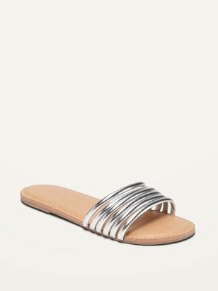 Old Navy Strappy Slide Sandals for Girls