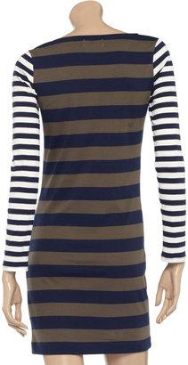 Chinti and Parker Striped cotton dress