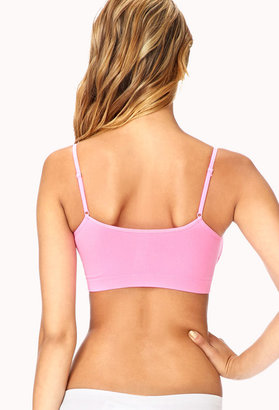 Forever 21 Tonal Piped Sports Bra