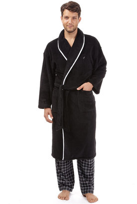 Nautica Men's Sleepwear, Solid Shawl Collar Robe