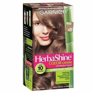 Garnier HerbaShine Color Creme with Bamboo Extract, Soft Black 200
