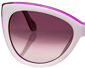 Vivienne Westwood Anglomania The Pearly Ivory and Purple Sunglasses