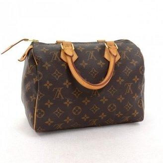 Louis Vuitton very good (VG Brown Monogram Canvas Speedy 25 City Handbag