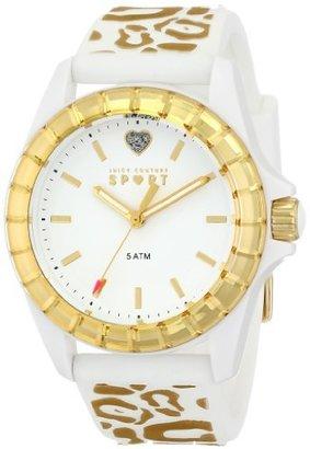 Juicy Couture Women's 1901136 Juicy Sport Analog Display Quartz White Watch $95 thestylecure.com