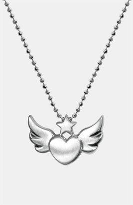Alex Woo 'Little Rock Star' Skull Pendant Necklace