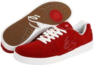 ES Keano (Maroon/White (Suede)) - Footwear