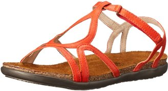 Naot Footwear Women's Dorith Sandal Orange Leather 4 M US