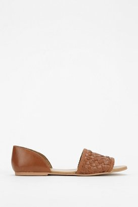 UO Ecote Woven D'Orsay Flat