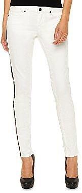 i jeans by Buffalo Tuxedo-Stripe Skinny Pants