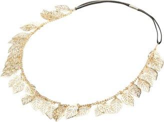 Ulta Gold Leaf Chain Headwrap
