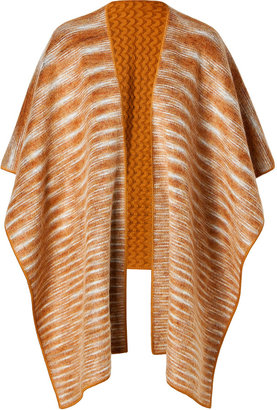 Missoni Mohair-Wool Blend Knit Poncho