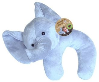 Endangered Species By Sud Smart Pillow and Blanket Travel Buddy - Elephant