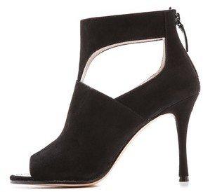 DKNY Lucia Peep Toe Ankle Booties