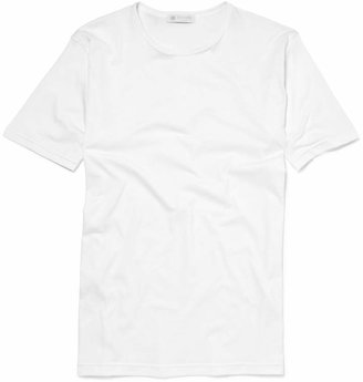 Sunspel Crew-Neck Superfine Cotton Underwear T-Shirt $75 thestylecure.com