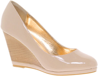 Oasis Patent Wedge Shoes